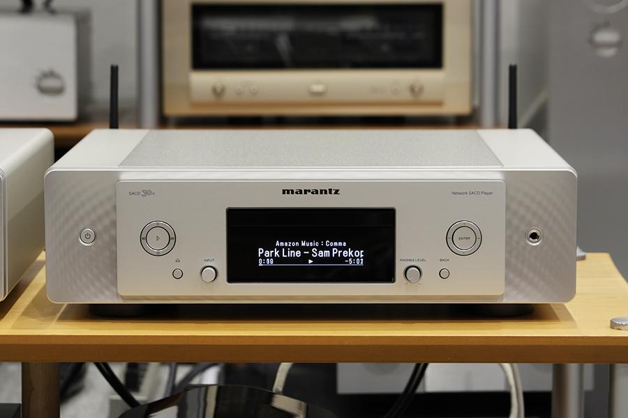 マランツ SACD 30n 展示機導入しました。_e0404728_10580509.jpg