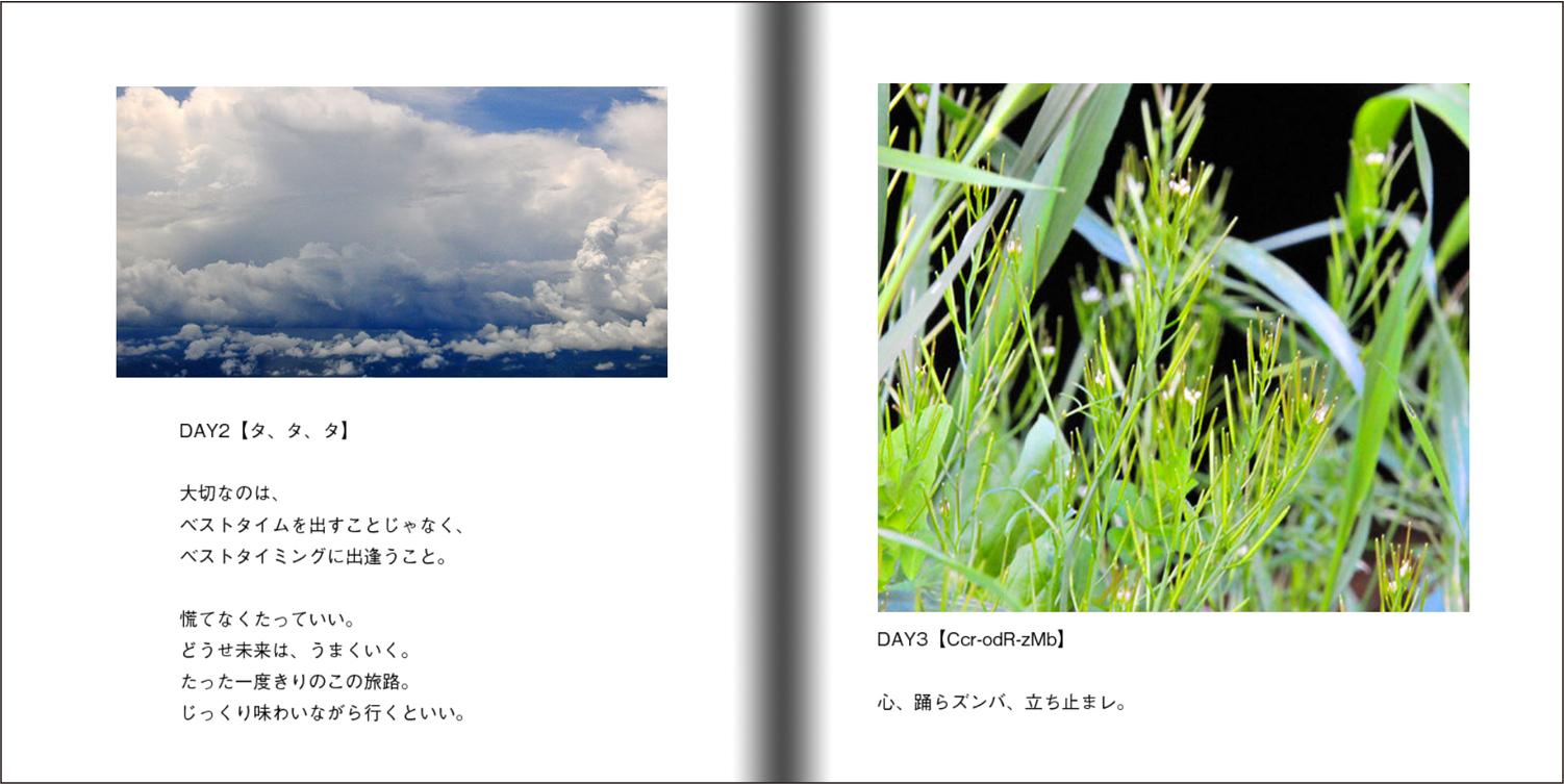 【オーダー承り〼】写真とことばの本『あなたの物語をはじめる』Maki SAEGUSA_d0018646_20035545.jpg