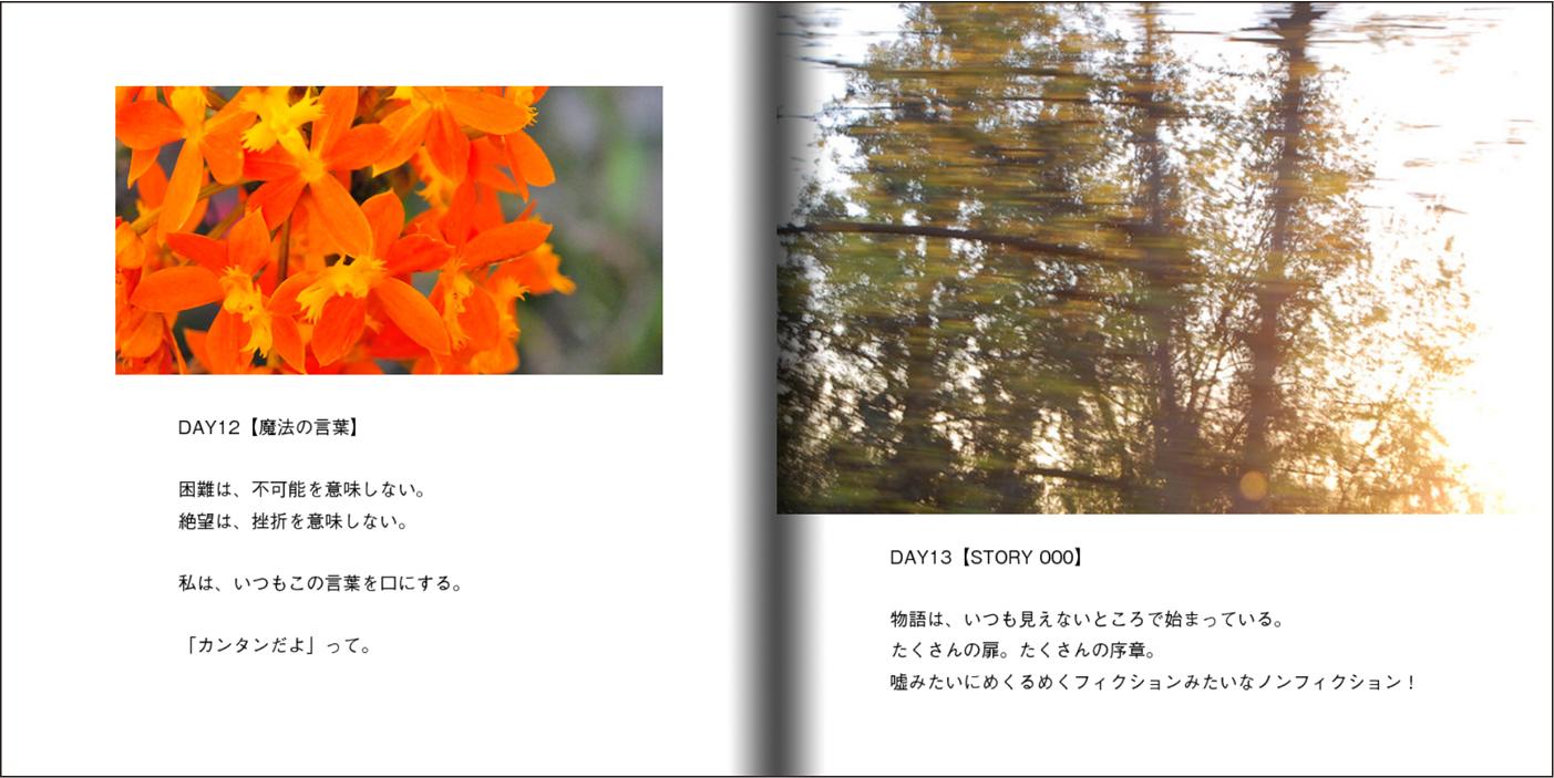 【オーダー承り〼】写真とことばの本『あなたの物語をはじめる』Maki SAEGUSA_d0018646_20185455.jpg