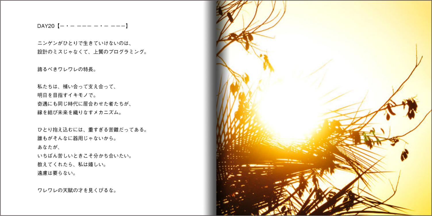 【オーダー承り〼】写真とことばの本『あなたの物語をはじめる』Maki SAEGUSA_d0018646_20273555.jpg