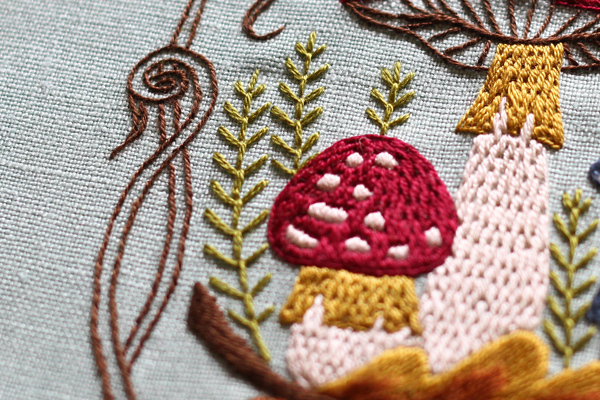 キノコの刺繍をしました_e0333647_15273080.jpg