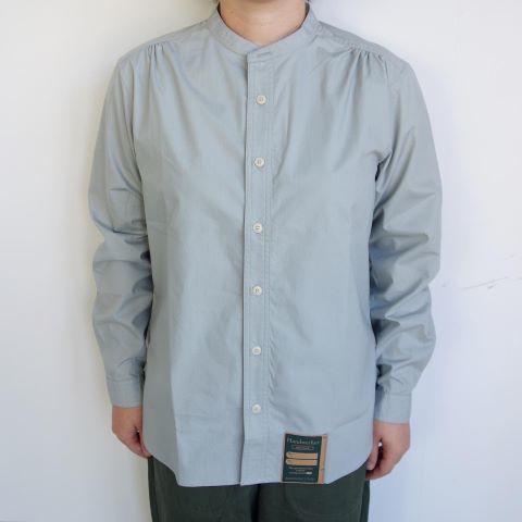 ASEEDONCLOUD : HW collarless shirt_a0234452_11062622.jpg