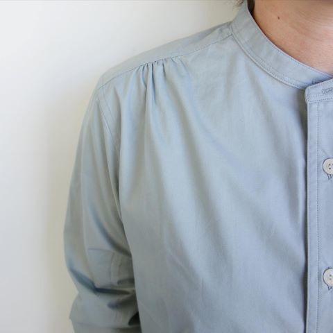 ASEEDONCLOUD : HW collarless shirt_a0234452_11063031.jpg