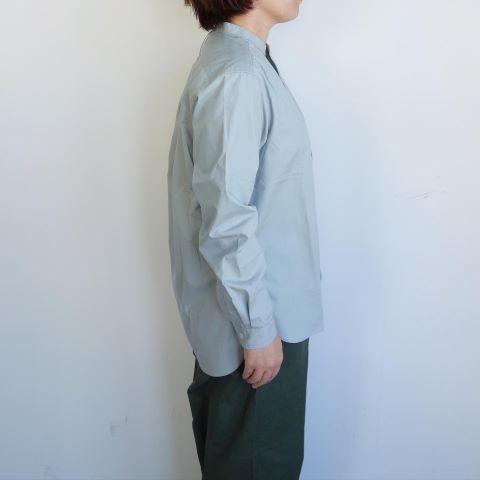 ASEEDONCLOUD : HW collarless shirt_a0234452_11063788.jpg