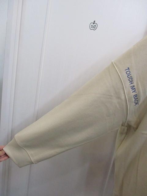 MARIED\'OR マリードール MARIED\'OR / 裏毛ヨコ使い刺繍入りロングハイネックプルオーバー_e0076692_18220142.jpg