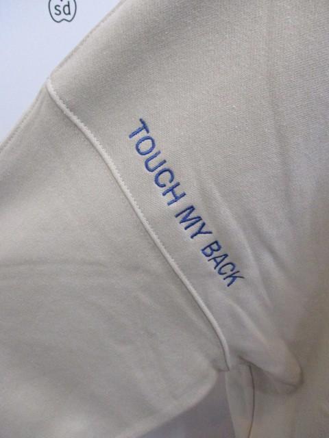 MARIED\'OR マリードール MARIED\'OR / 裏毛ヨコ使い刺繍入りロングハイネックプルオーバー_e0076692_18220443.jpg