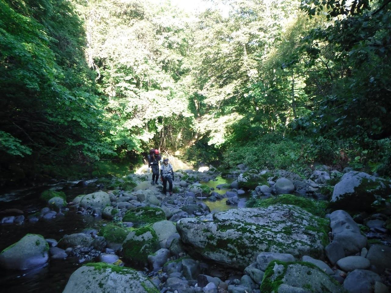 夏の終わりに余別川で沢登り_d0198793_08460731.jpg