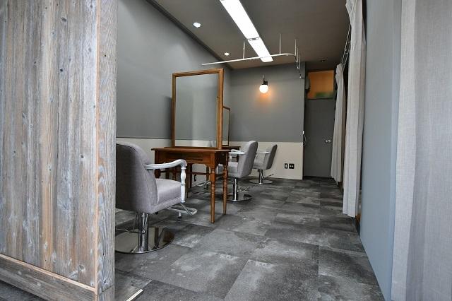 美容院の内装工事 3 完成_c0068695_16341827.jpg