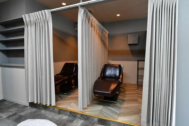美容院の内装工事 3 完成_c0068695_16344058.jpg