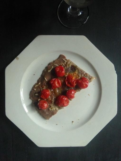 チェリートマトのタルト  Tarte aux tomates cerises_e0206902_21005151.jpg
