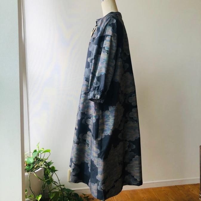 着物リメイク・大島紬からワンピース_d0127925_11154104.jpg