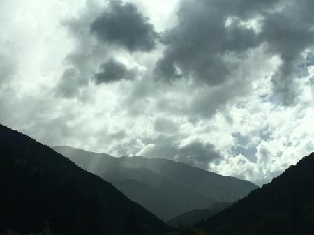 9月5日(土)晴 登山道ではにわか雨_c0089831_06113639.jpeg