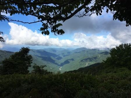9月5日(土)晴 登山道ではにわか雨_c0089831_06161348.jpeg