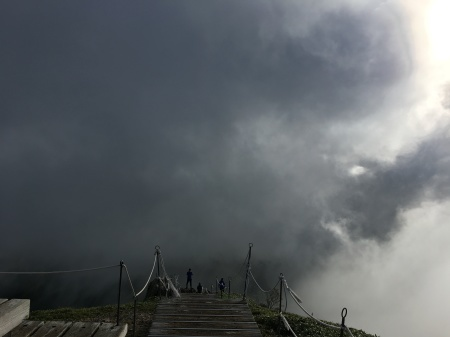 9月5日(土)晴 登山道ではにわか雨_c0089831_06181011.jpeg