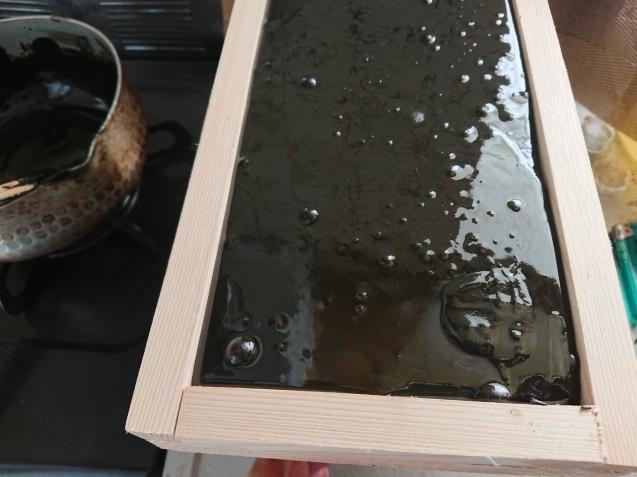 手作り木製ヤニ台_b0364938_15331651.jpg
