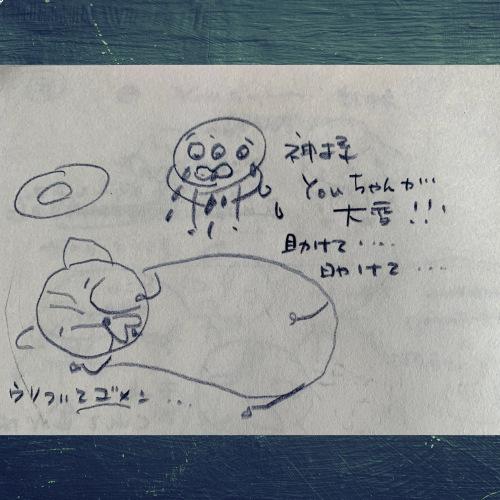 youちゃんとmeちゃんの友情の物語_b0307951_22432670.jpg