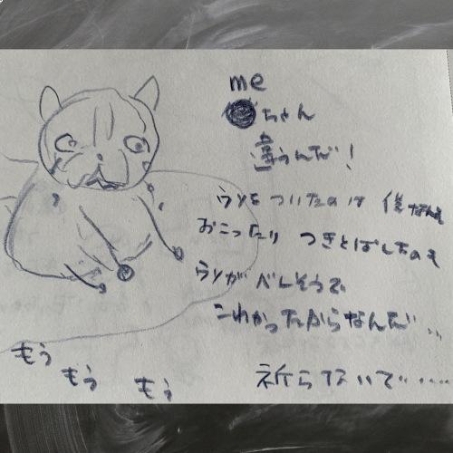 youちゃんとmeちゃんの友情の物語_b0307951_22501934.jpg