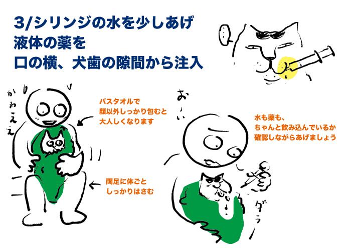 プチコのこと_2 #猫 慢性腎臓病 #投薬方法_e0026053_14074280.jpg