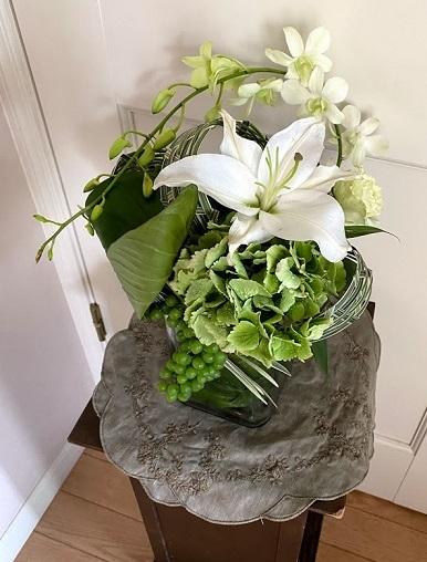 今月のお花のお教室_b0016668_22560985.jpg
