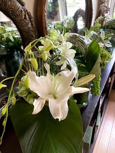 今月のお花のお教室_b0016668_22572329.jpg