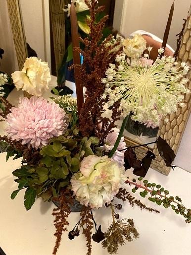 今月のお花のお教室_b0016668_22582235.jpg