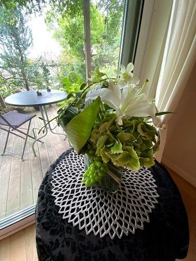 今月のお花のお教室_b0016668_23011216.jpg