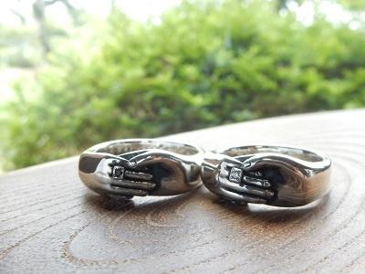 ふたりの手をデザインした結婚指輪 | 岡山_d0237570_13253371.jpg