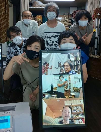 浜松市楽器博物館での影絵芝居公演_e0017689_20513936.jpg
