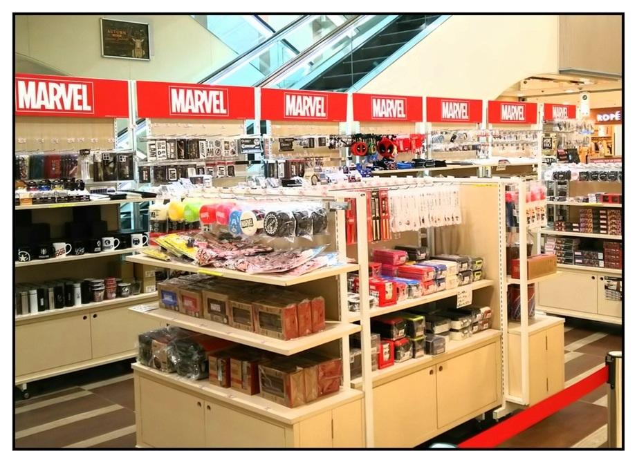 【ただの雑記】青森の駅ビルでマーヴェルを店が開催されて『た』話。_f0205396_22013280.jpg