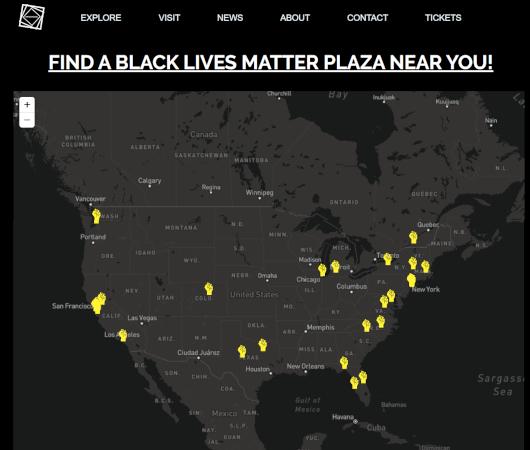 全米のBlack Lives Matterプラザで、実験的なVRアート展「We Rise Above」開催中_b0007805_20430937.jpg