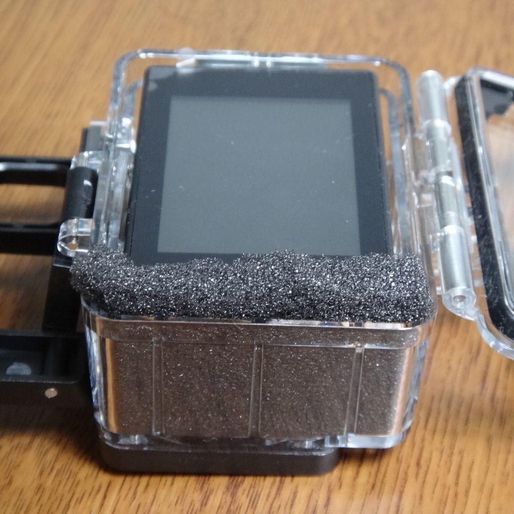 久々のアクションカメラ その8 ・・・ 風切音対策の簡素化を試みたものの・・・_f0004270_22345148.jpg