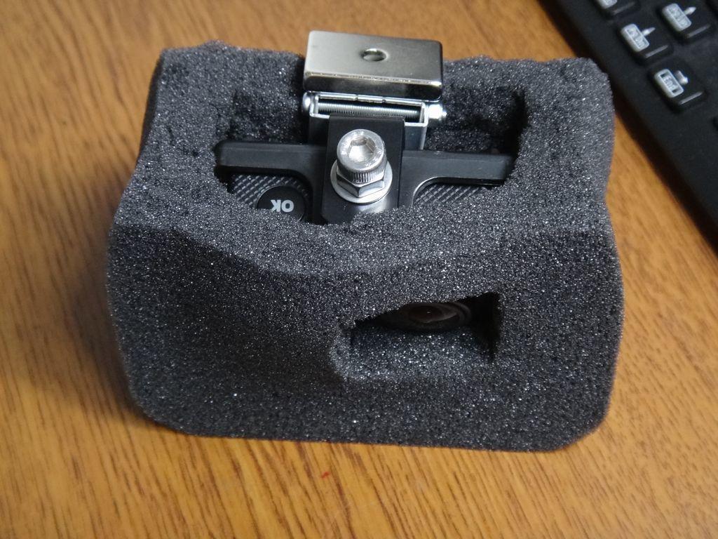 久々のアクションカメラ その8 ・・・ 風切音対策の簡素化を試みたものの・・・_f0004270_22563304.jpg
