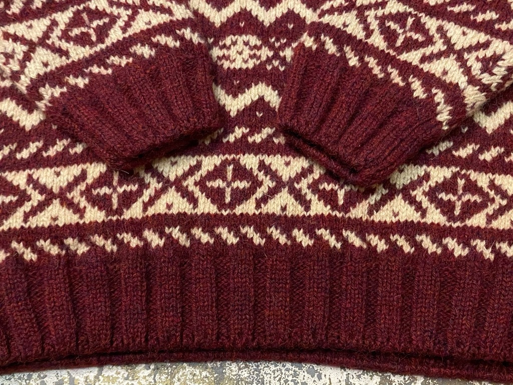 9月12日(土)大阪店冬物スーペリア入荷!!#2 KnitSweater編!!Cowichan,CamelHair&Nordic!!_c0078587_17304127.jpg