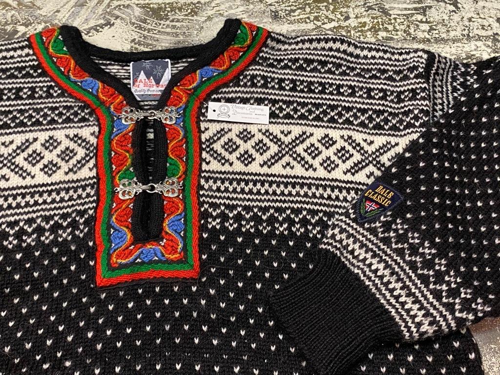 9月12日(土)大阪店冬物スーペリア入荷!!#2 KnitSweater編!!Cowichan,CamelHair&Nordic!!_c0078587_17312715.jpg