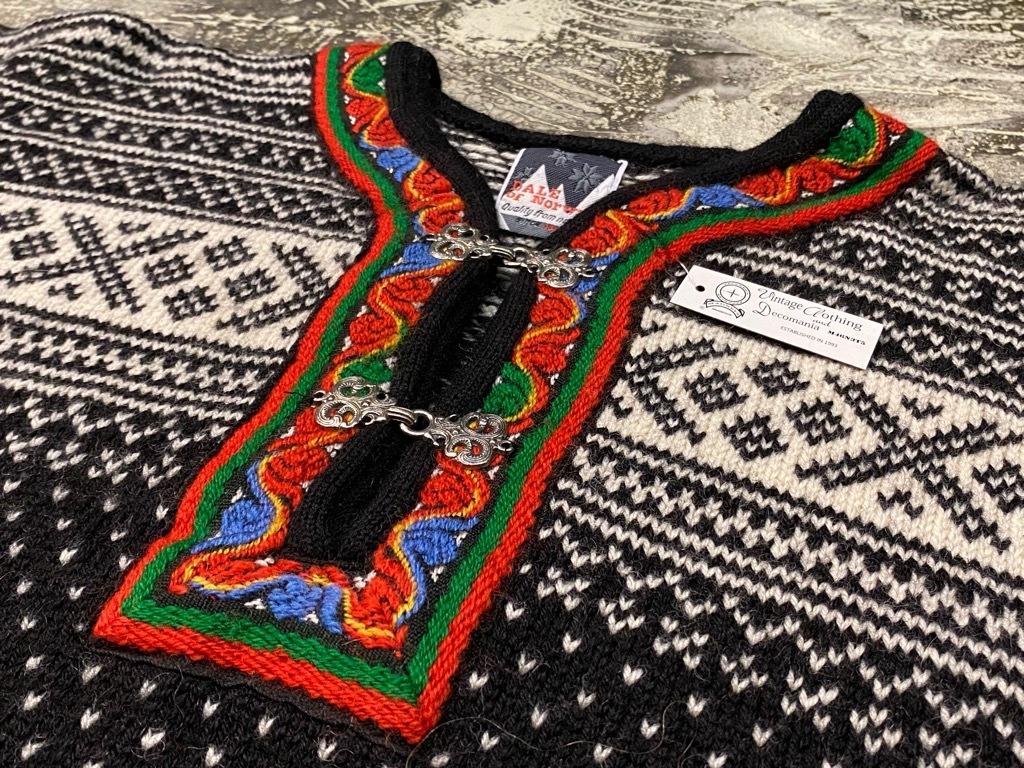 9月12日(土)大阪店冬物スーペリア入荷!!#2 KnitSweater編!!Cowichan,CamelHair&Nordic!!_c0078587_17312951.jpg
