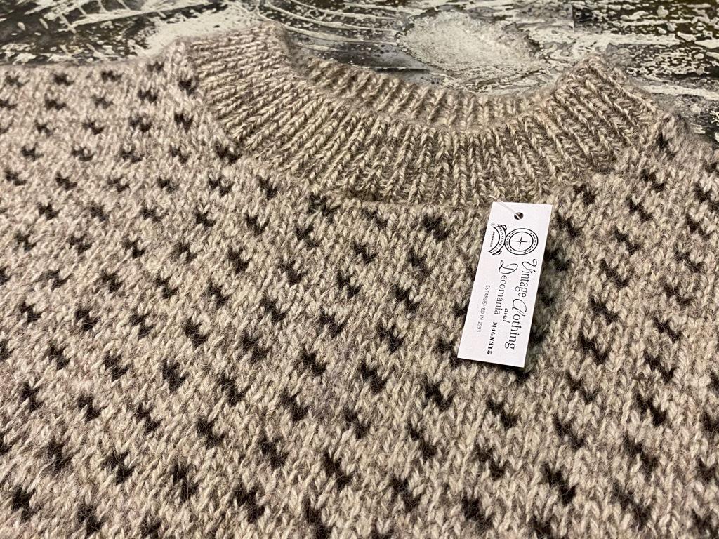 9月12日(土)大阪店冬物スーペリア入荷!!#2 KnitSweater編!!Cowichan,CamelHair&Nordic!!_c0078587_17330004.jpg
