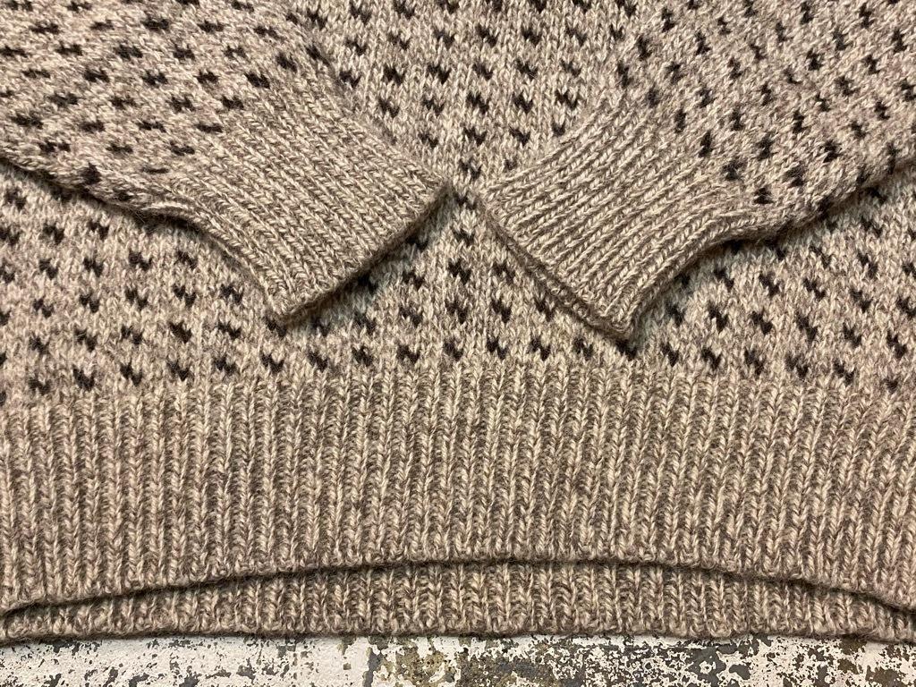 9月12日(土)大阪店冬物スーペリア入荷!!#2 KnitSweater編!!Cowichan,CamelHair&Nordic!!_c0078587_17330236.jpg