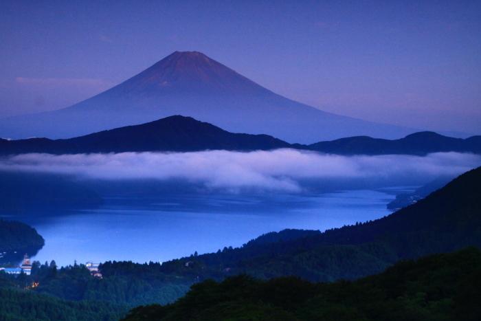 令和2年8月の富士(19) 大観山夜明けの富士 _e0344396_20511703.jpg