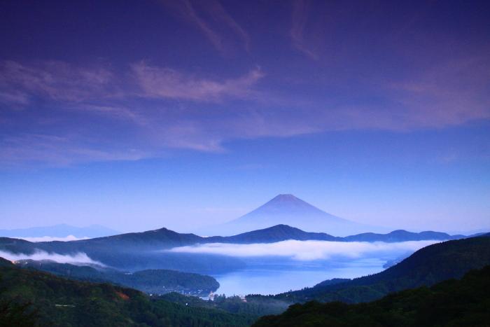 令和2年8月の富士(19) 大観山夜明けの富士 _e0344396_20511721.jpg