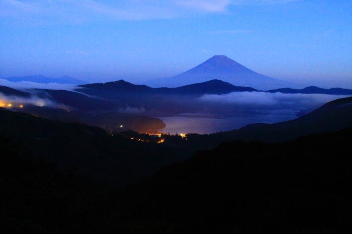令和2年8月の富士(19) 大観山夜明けの富士 _e0344396_20511754.jpg