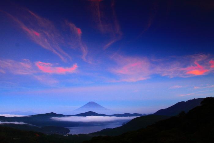 令和2年8月の富士(19) 大観山夜明けの富士 _e0344396_20511816.jpg
