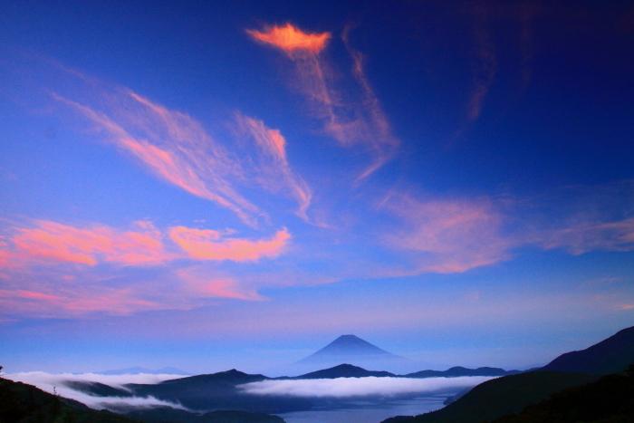 令和2年8月の富士(19) 大観山夜明けの富士 _e0344396_20511821.jpg