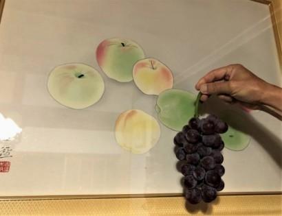 葡萄とお芋の物々交換_a0346704_20024294.jpg