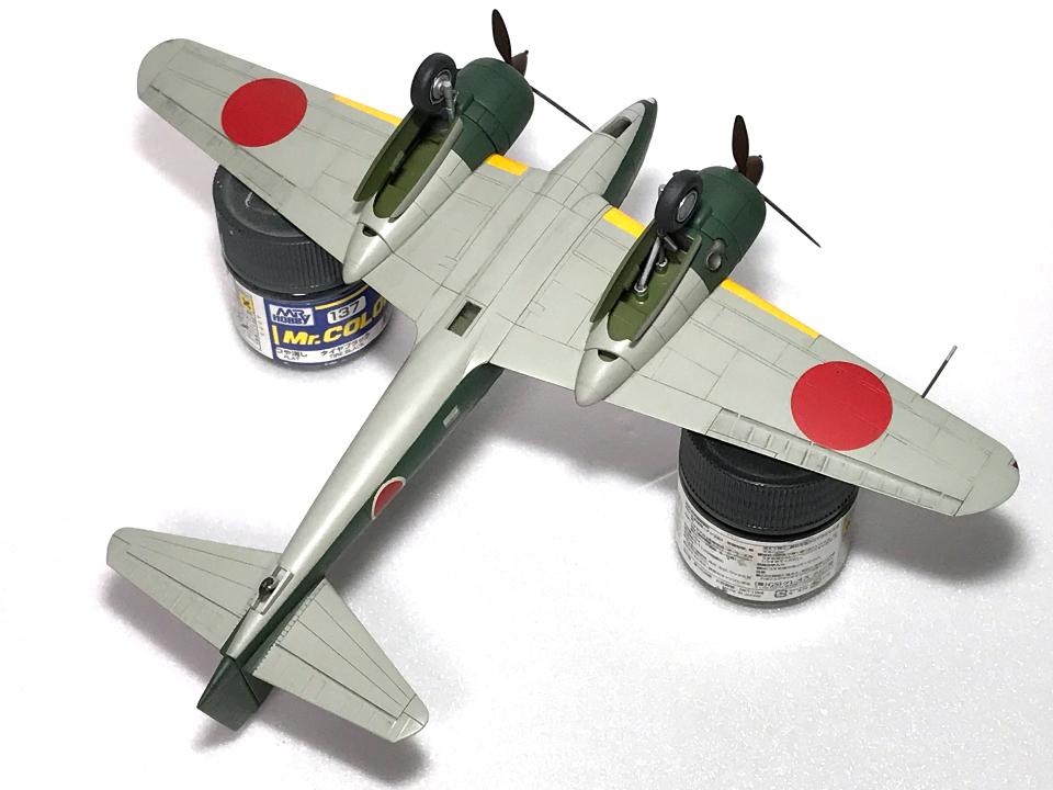 アリイ 1/72 百式司偵III型_b0055614_19442549.jpg