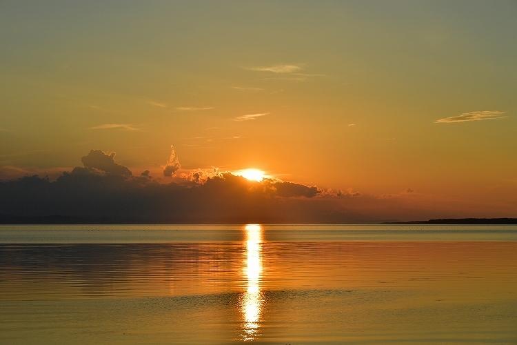 サロマ湖夕景②_f0116528_20340843.jpg