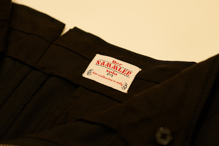 """Der SAMMLER solo × TheThreeRobbers NEW HAVEN PANTS MEN\'S - ORDER\""ってこんなこと。_c0140560_12405289.jpg"