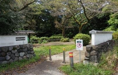 平山城址公園_e0033570_22043505.jpg