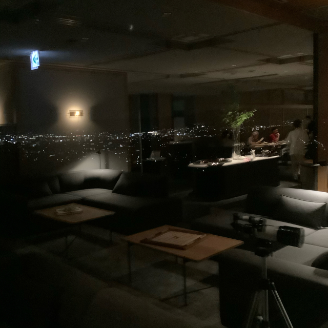 ANDO HOTEL 夕食後はまったりと_a0334793_23401871.jpg