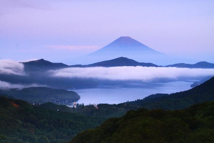 令和2年8月の富士(20) 大観山の赤富士 _e0344396_23013912.jpg