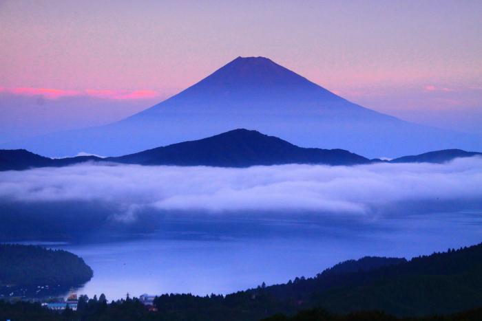 令和2年8月の富士(20) 大観山の赤富士 _e0344396_23014075.jpg
